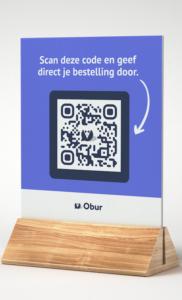Obur QR-code scannen